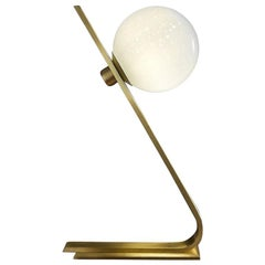 Daphne Brass Italian Table Lamp