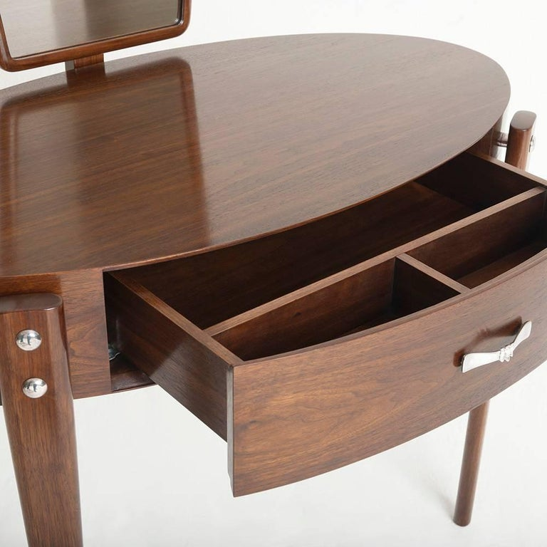 Mid-Century Modern Daphne Dressing Table, Fiona Makes For Sale