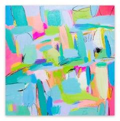 Summer Samba (Abstract painting)