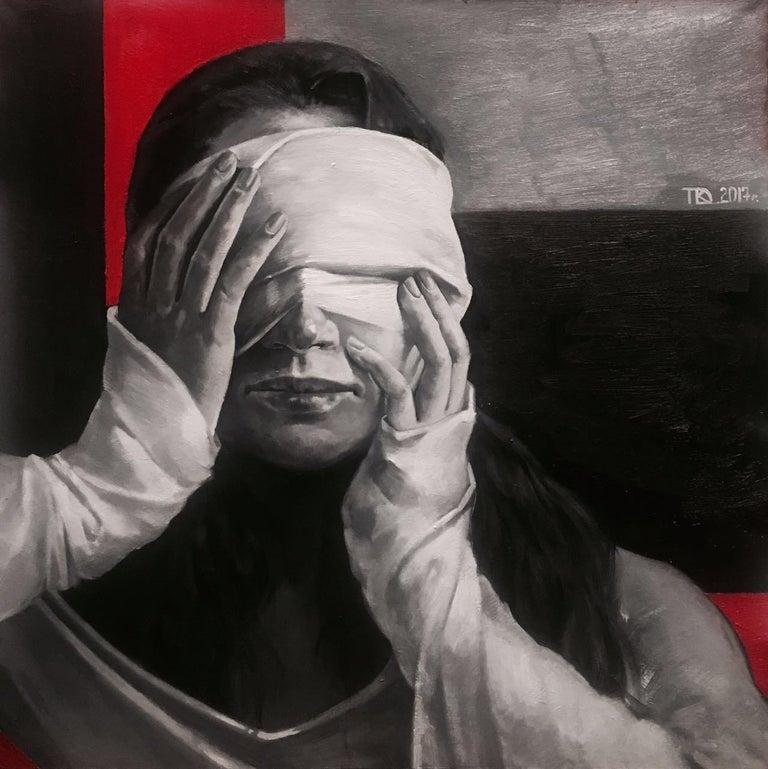 Daria Kotlyarova Interior Painting - Blow up
