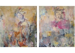 Diptych Inspired By Rembrandt ,