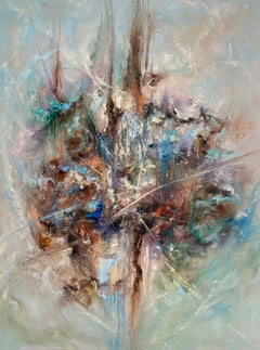 Rise Above by Dario Campanile, Abstract Expressionism Oil Painting, 2020