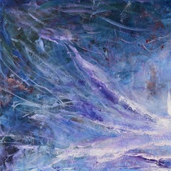 Storm Surge by Dario Campanile, Abstract Expressionism Oil Painting, 2013
