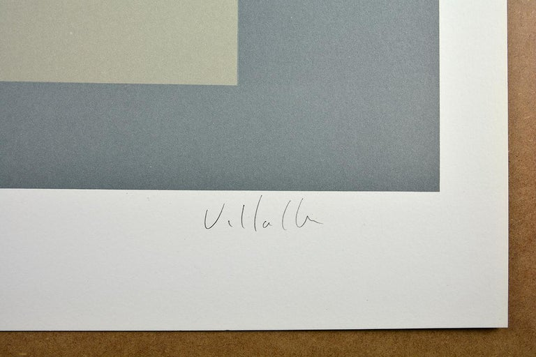 DARÍO VILLALBA: Untitled 4. Limited edition lithograph on paper. Conceptualism For Sale 1