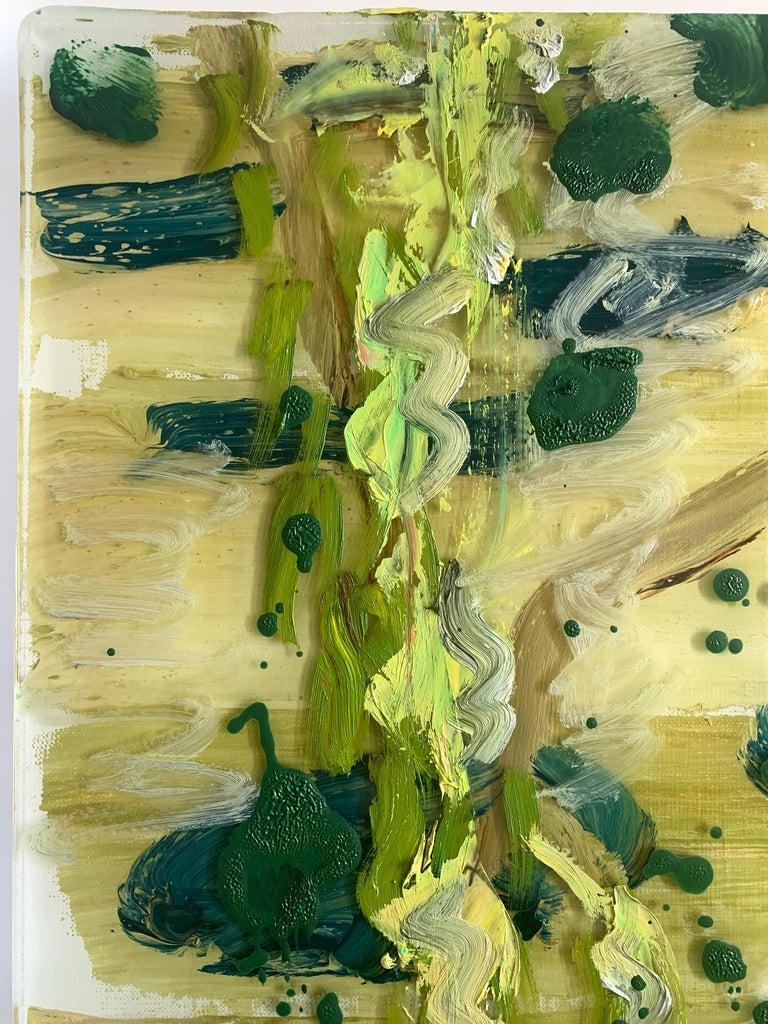 Edge of Pond - Painting by Darius Yektai