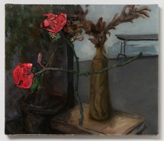 Studio Interior with Roses
