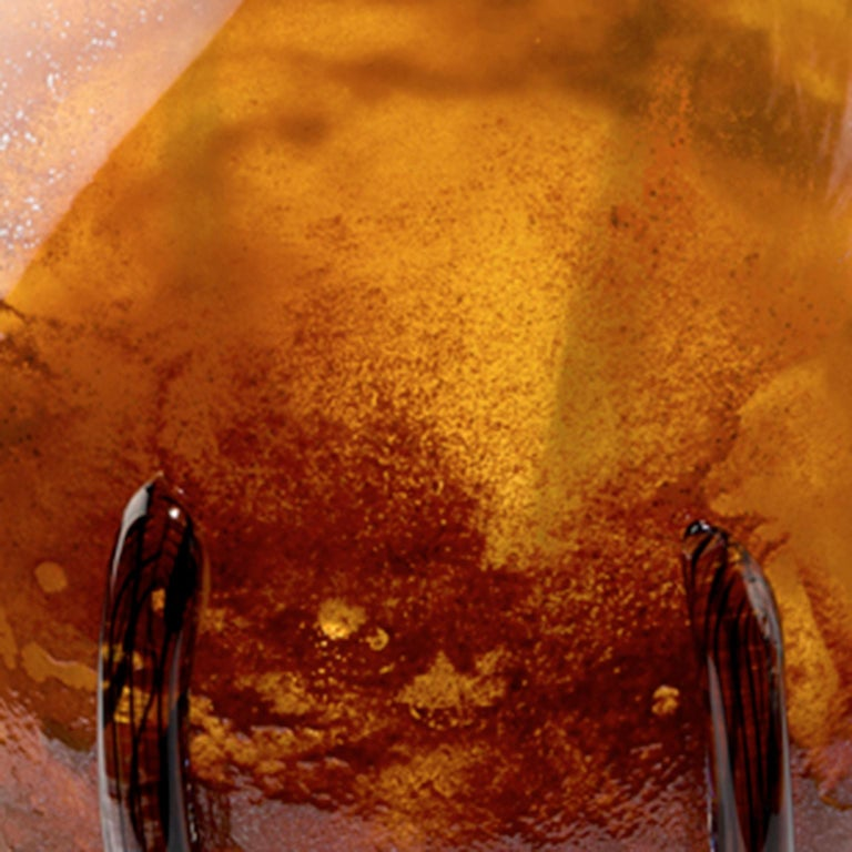 Dark Amber Calabash - Inspired by the Caribbean fruit calabash In New Condition For Sale In Amsterdam, NL