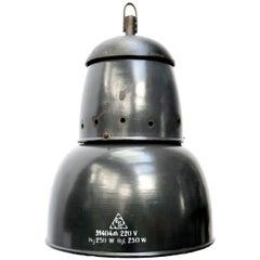 Dark Blue Enamel Vintage Industrial Pendant Lights