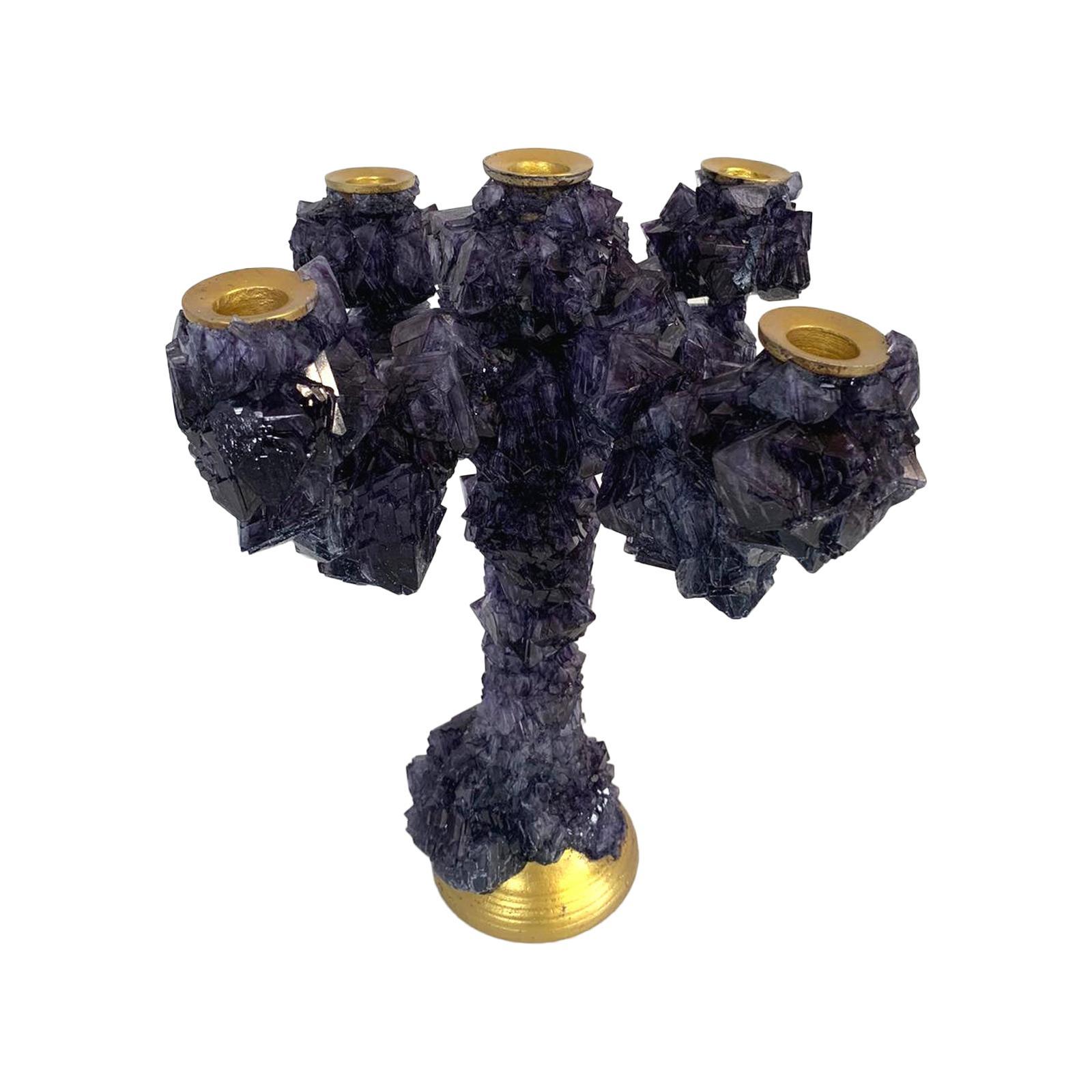 Dark Crystals Overgrown Candelabra, Mark Sturkenboom