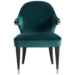 Dark Green Chair