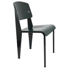 Dark Green Standard Chair by Jean Prouvé, Vitra Edition, 2002