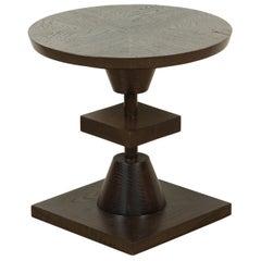 Dark Grey Washed Oak Morro Table by Lawson-Fenning