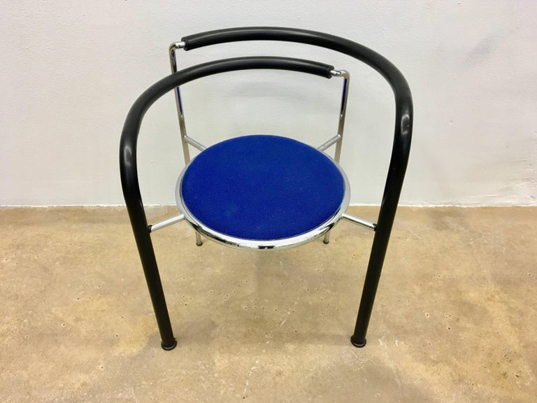 Steel Dark Horse Seating Group by Rud Thygesen & Johnny Sorensen for Botium, 1980s For Sale