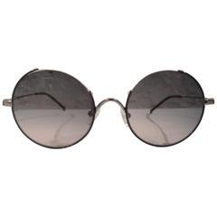 Dark lens black sunglasses