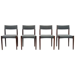 Dark Teak Dining Room Chairs from Bovenkamp