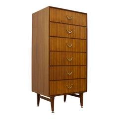 Dark Teak Dresser from Meredew, 1960s