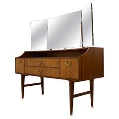 Dark Teak Dressing Table from Meredew, 1960s