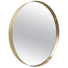 Darkly Mirror, Large, Brass, Designed by Nick Ross