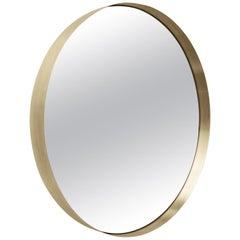 Darkly Mirror, Medium, Brass, Designed by Nick Ross