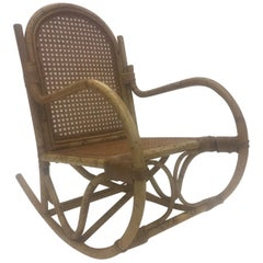 Darling Rattan Child's Rocking Chair