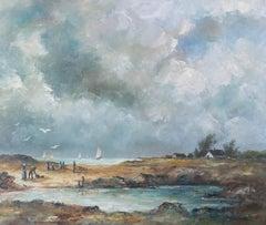 Darnault - 20th Century Oil, Storm on the Coast