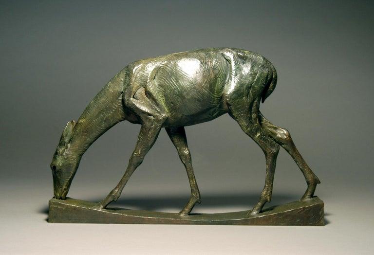 A Quiet Moment - Contemporary Sculpture by Darrell Davis