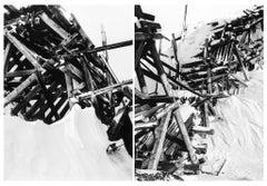 Minus 60,00 -- Print, Silver Gelatin Print, Contemporary by Darren Almond