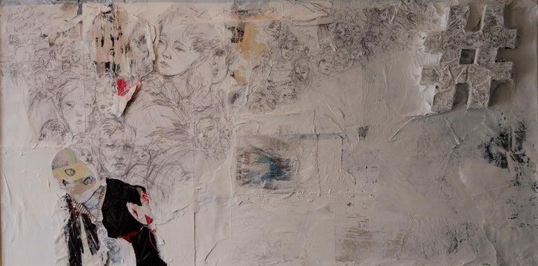 Darren LeGallo Figurative Painting - A Sardines Sentence
