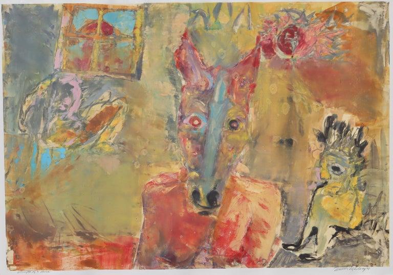 Glimpse of a Horse - Print by Darren Vigil Gray