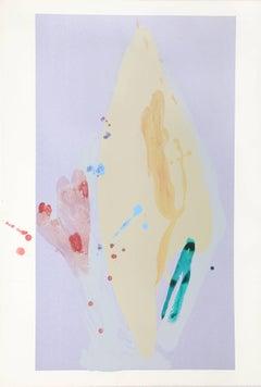 Oh, Susanna, Abstract Painting and Silkscreen by Daryl Hughto