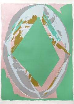 Aurora Borealis, Silkscreen by Darryl Hughto