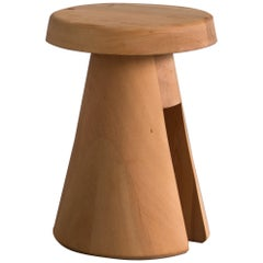 Data Stool in Solid Oregon by Atelier Thomas Serruys