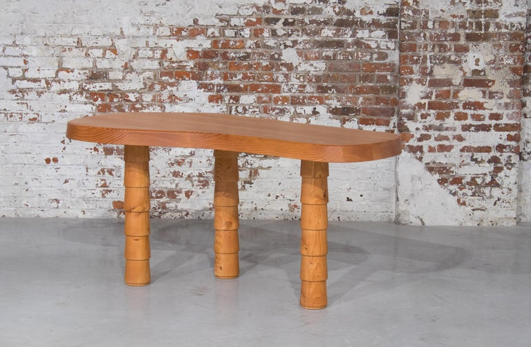 Contemporary Data Table Four Legged in Oregon by Atelier Thomas Serruys For Sale