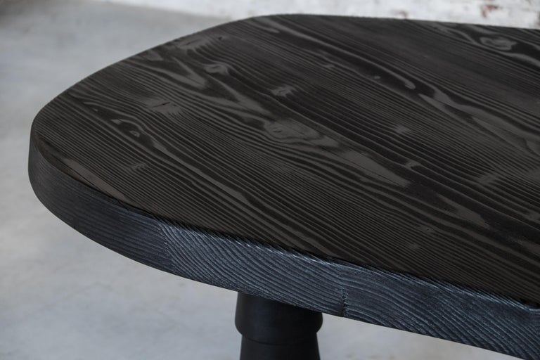 Wood Data Table Four Legged in Oregon by Atelier Thomas Serruys For Sale