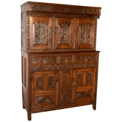 Dated 1687 Charles II Court Cupboard