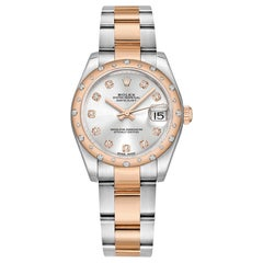 Datejust 31 Everose Rolesor and Diamond '178341-0033'