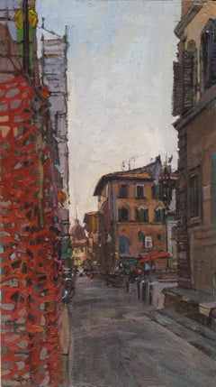 """""""Oltrarno"""" Oil painting"""