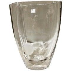 Daum Crystal Vase for Christian Dior