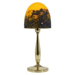 Daum French Art Deco Table Lamp, 1920s