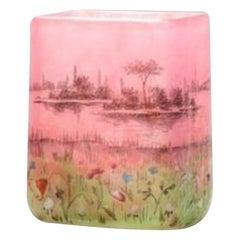 """Daum Miniature Vase """"Prairie"""""""