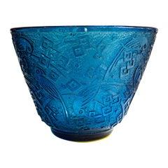 Daum Nancy Acid-Etched Glass Vase, circa 1925