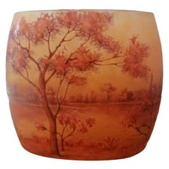 Daum Nancy Landscape Glass