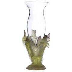 Daum Vase Signed