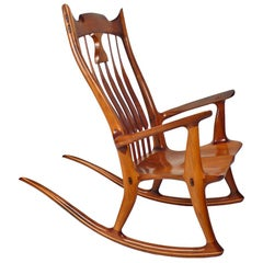 Dave Hentzel Handcrafted Rocking Chair