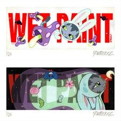Wet Paint Archival Print Set