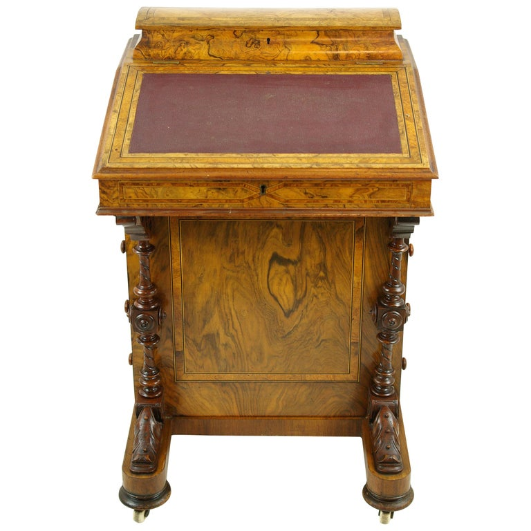 Davenport Desk Antique Desk Writing Table Victorian Desk