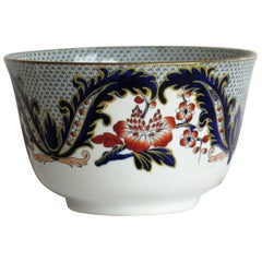 Davenport Porcelain Bowl in Pattern 2829 Fully Marked to Base, English, 1860