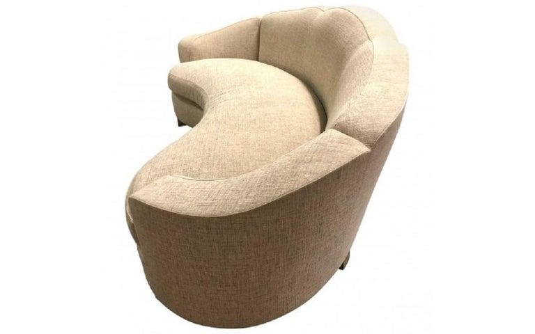 Contemporary Davenport Sofa by Jonas For Sale