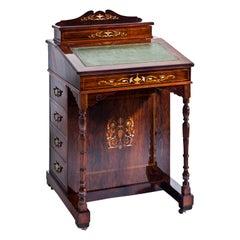Davenport Writing Desk, England Mid-19th Century