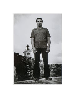Ali at El Morro Castle, San Juan 1976